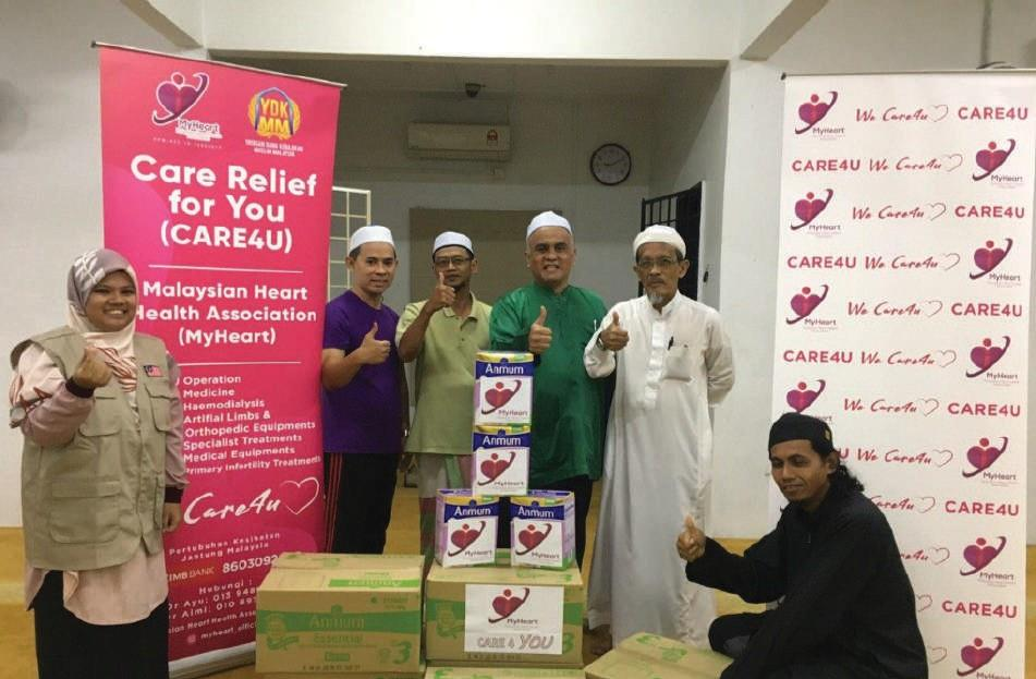 5 Cartons Of ANMUM Milk Distributed To Asnaf Sg Merab