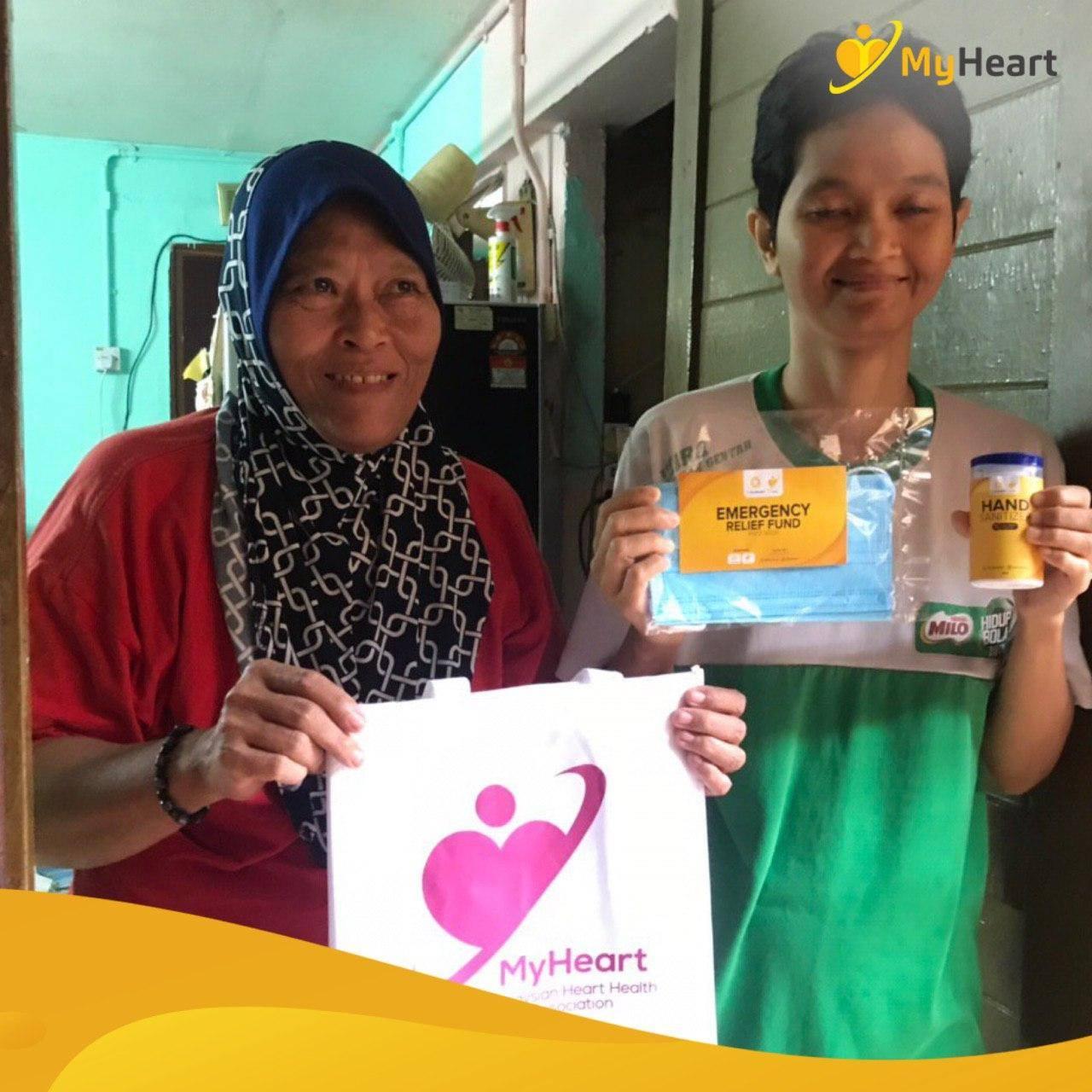 Face Mask Dan Hand Sanitiser Ke 10 Buah Rumah Asnaf Di Sekitar Kuala Lumpur.