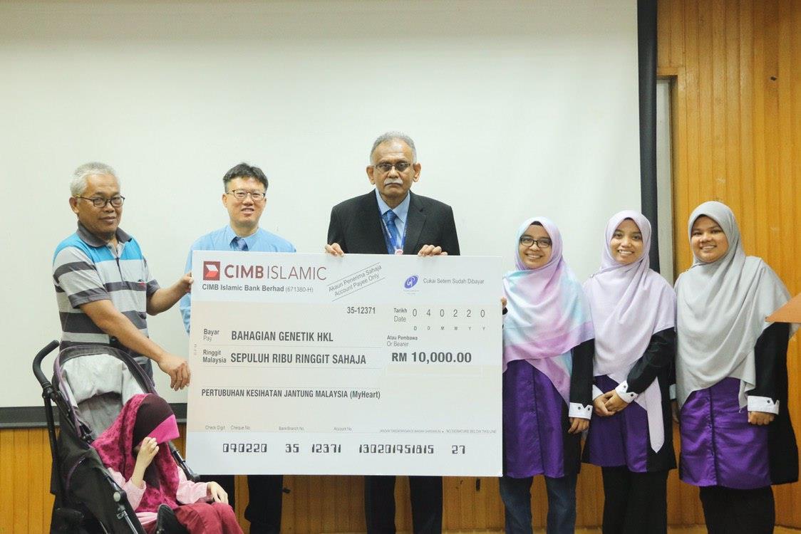 RM 10,000 Fund Distribution To Genetic Department Kuala Lumpur Hospital.