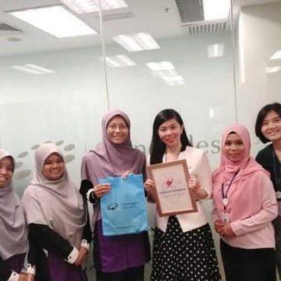 MyHeart Meeting With Miss Hoo Ling Lee , CEO Of Gleanegles Hospital